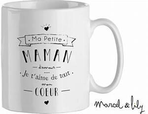 Mug Fete Des Meres : f te des m res marcel et lily mug maman maman de ouistiti ~ Teatrodelosmanantiales.com Idées de Décoration
