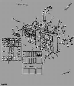 Fuse Box    Symbols - Tractor John Deere 6125j