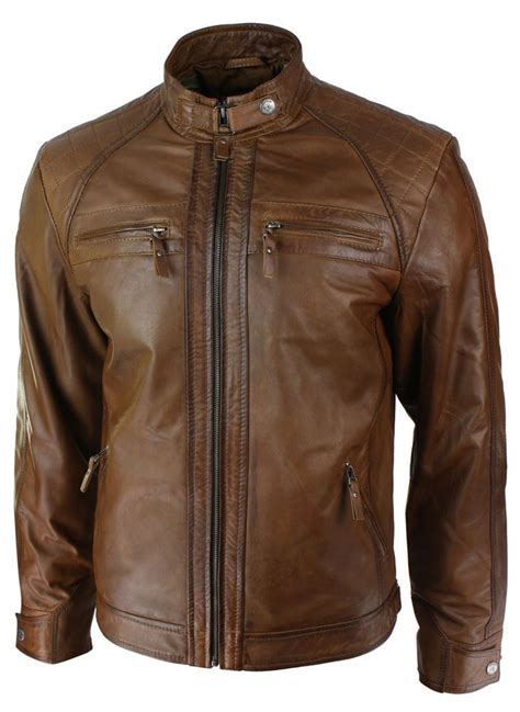 brown leather motorcycle jacket 246 best leather jackets images on pinterest jackets