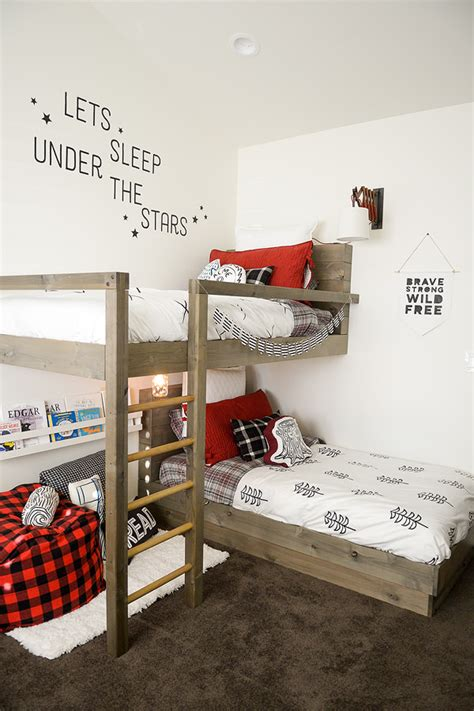 Boys bunk bed room ideas. 9 Amazing DIY Bunk Beds   Decorating Your Small Space