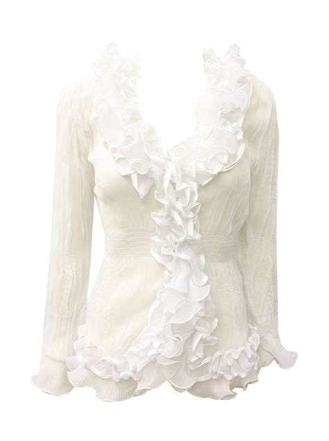ruffled white blouse white ruffled blouses quotes