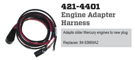 Cdi Electronics Engine Adapter Harness Old