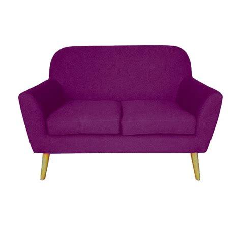 canapé deux places design canapé design deux places violet