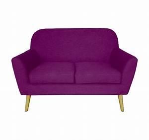 canape design deux places violet With canapé 2 places violet