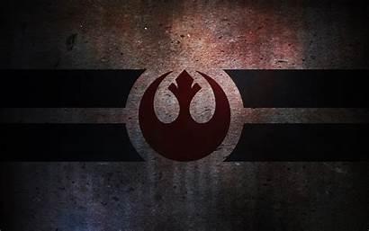 Wars Star Rebellion Sign Wallpapers Wallpaperup Log