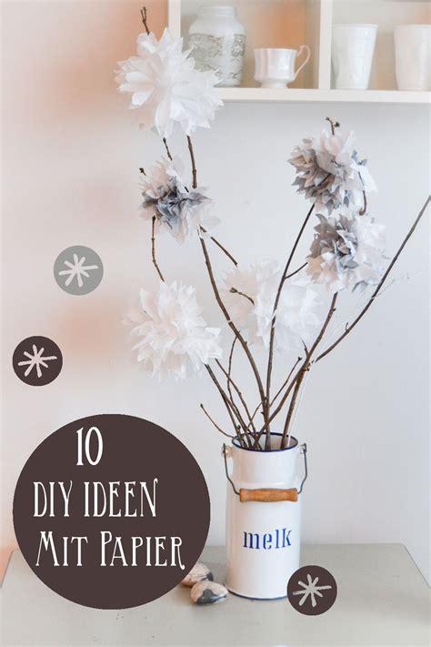 bastelideen mit fotos 10 bastelideen mit papier deko und geschenke