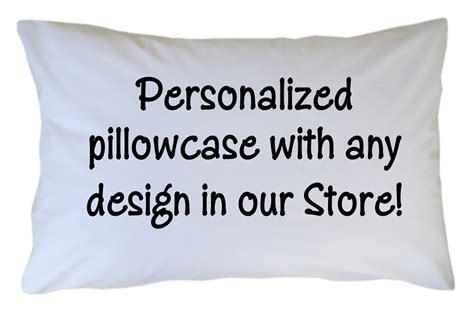 customized pillow cases personalized pillowcase custom with any design theme in