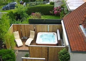 Sichtschutzpflanzen Für Terrasse : bambus zaunelemente moderner sichtschutz ~ Indierocktalk.com Haus und Dekorationen