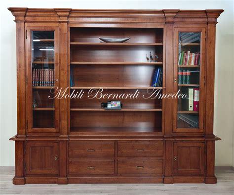 librerie noce librerie classiche in legno librerie