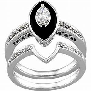 jc wedding rings With onyx wedding ring sets