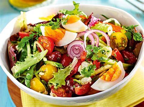 schnelle salate   minuten fertig lecker