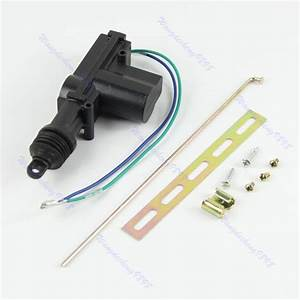 Heavy Duty Power Door Lock Actuator Motor 2 Wire With