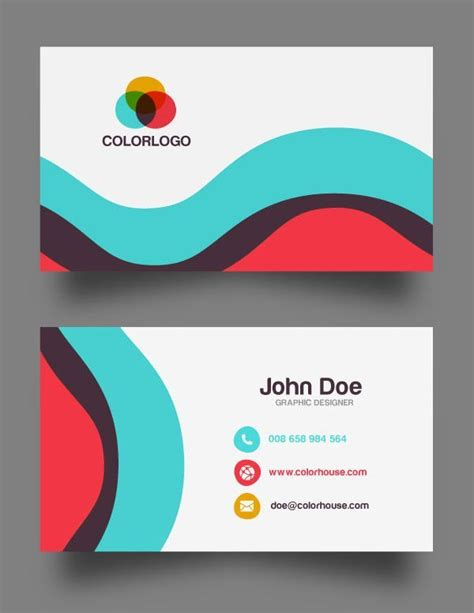 business card psd templates mockups
