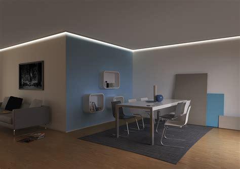 Led Licht Decke by Led Licht In Profilen An Wand Decke Im Boden Oder M 246 Beln