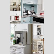 The Ideal Kitchen Appliance Storage  Live Simply By Annie
