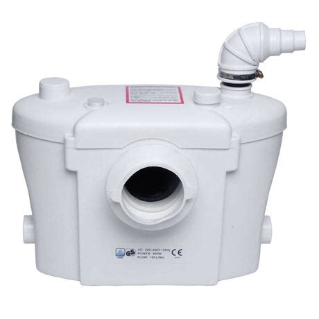 Sanitary Macerator Waste Pump System For Toilet, Basin