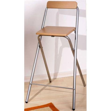 chaise pliable pas cher tabouret de bar pliable design en image