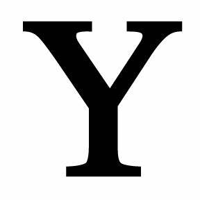 wrought iron letter y With big letter y