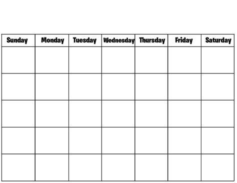 blank calendar fotolip