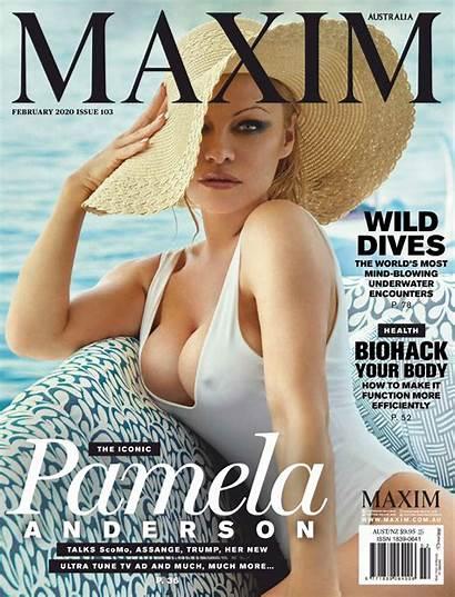 Pamela Anderson Maxim Magazine Australia February Hawtcelebs