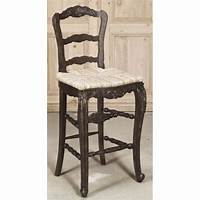 french country bar stools Reproduction Country French Solid Oak Bar Stool - Inessa ...