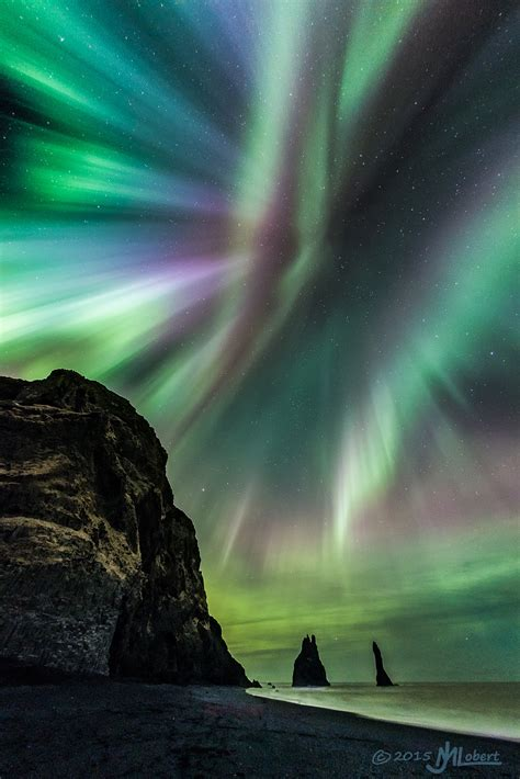 Into The Night Photography Opal Skies Over Iceland