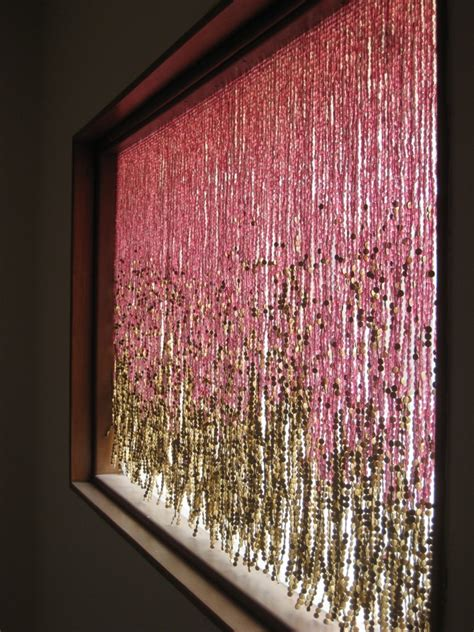 pomegranate gold beaded curtain memories of a butterfly buy beaded curtain