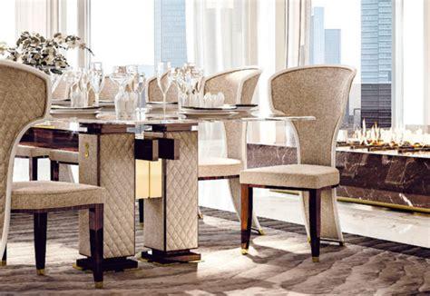 sale da pranzo di lusso tavoli e sedie su misura per sale da pranzo di lusso faoma