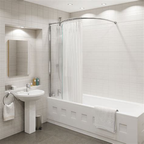 Bath Shower by Kudos Inspire Bath Shower Panel With Curved Shower
