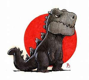Pretty pumped for the new #Godzilla movie. Drawing by Jake ...