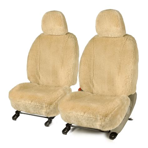 ford  custom sheepskin seat cover    comfy