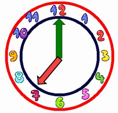 Clock Clipart Clip Analog Cliparts Colorful Panda