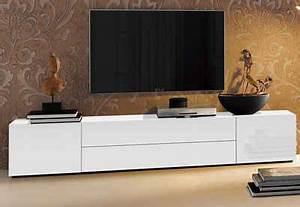 Tv Board 200 Cm : sch nheit tv m bel wei lowboard breite 200 cm weiss hochglanz jpg formatz 9635 haus renovieren ~ Whattoseeinmadrid.com Haus und Dekorationen