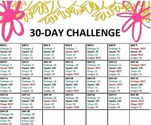 30 day eating and exercise plan