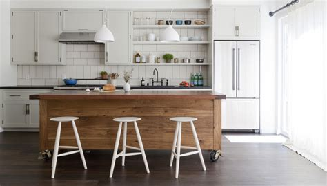 large kitchen island simo design puts large kitchen island on wheels