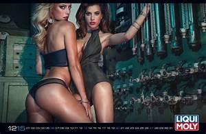 LIQUI MOLY Erotik-Kalender 2015: - Fotostrecke - AmeriCar