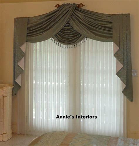 Curtain Jabot Swags and Valances
