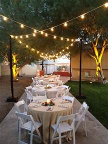 Elegant Backyard Parties