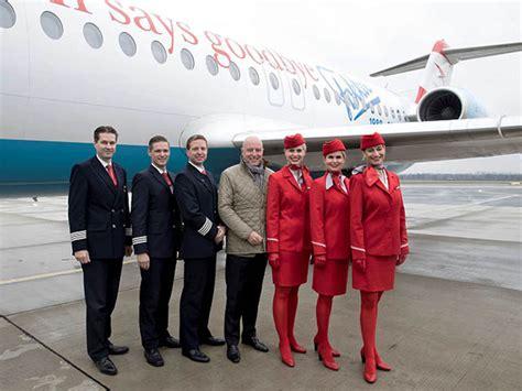 le bewegungsmelder außen austrian airlines dit adieu au fokker air journal