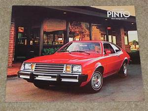 Sell 1979 Ford Pinto Sales Brochure In Mint Condition  From My Dealership Nos Motorcycle In