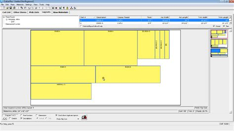 woodworking software  project layout