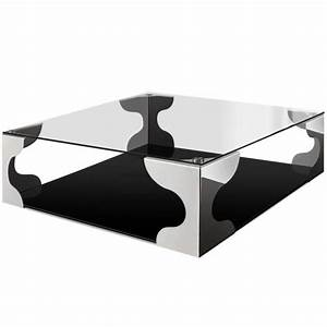 Table Basse Carre Diamka XL Achat Vente Table Basse