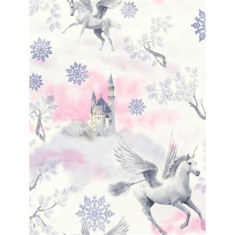 fairytale unicorn wallpaper lilac arthouse 667801