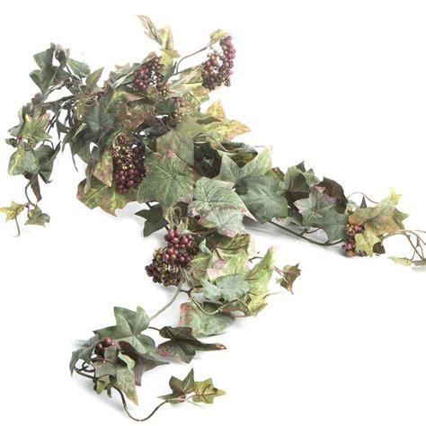 artificial grape leaf bush bushes and bouquets floral