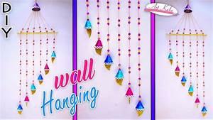 Newspaper wall hanging Newspaper crafts Wall Decor
