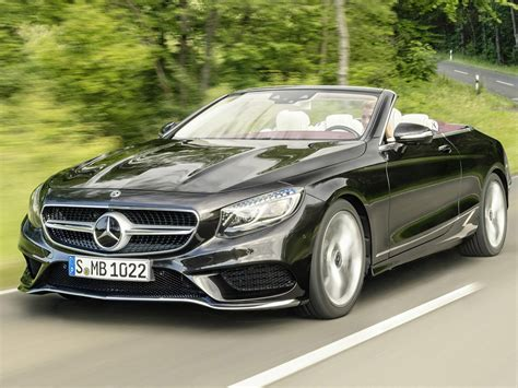 2018 Mercedesbenz S Class Coupe And Cabriolet Range Gets