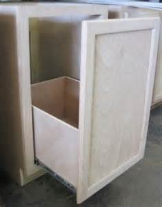 kitchen corner cabinet trash can pull out oak pantry storage cabinet foter