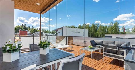 Retractable Sunroom by Retractable Glass Walls For Balconies Sunrooms And Patios