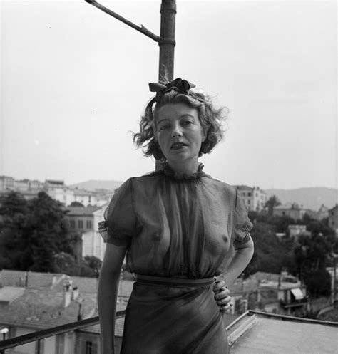Item Photograph Of Eileen Agar On A Balcony In France Tate