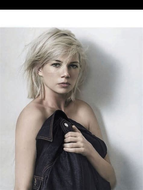 pin  chris crone  swoon michelle williams hair
